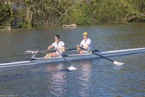 The new Sinkovic Bros.? Butler and Hurley winning Senior Double Sculls